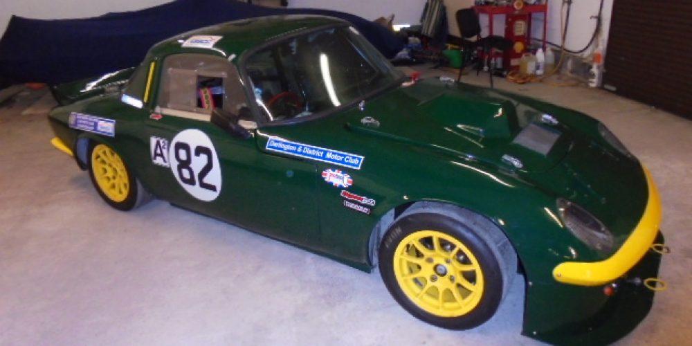 Lotus Elan 26R Silhouette Race Car.