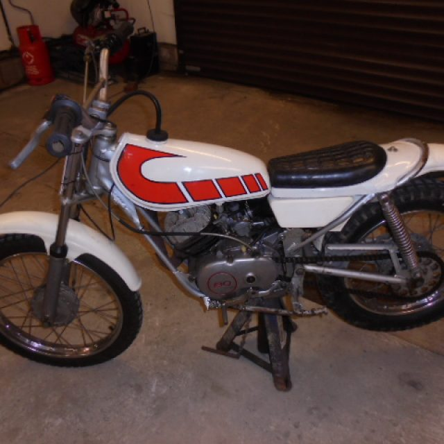 Yamaha TY80 Trials
