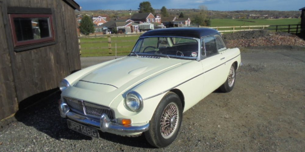 MGC Roadster 1969 Project
