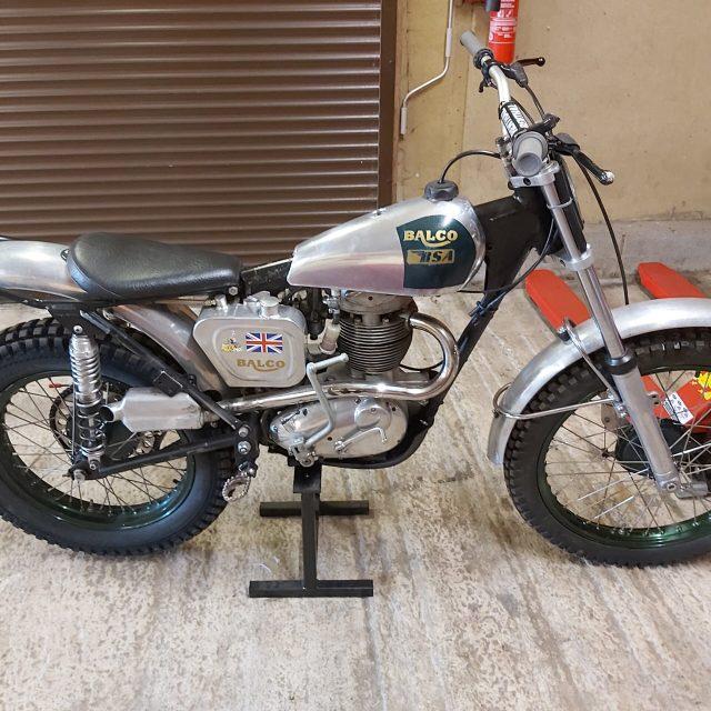BSA B40 Pre 65 Trials