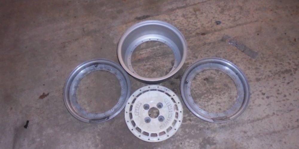 Compomotive Split Rim Wheel