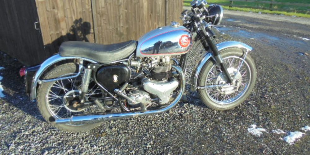 BSA Rocket Gold Star Replica 1959