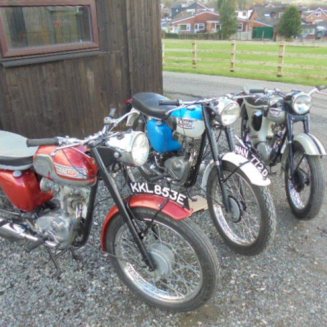 Triumph Tiger Cub Motorcycles
