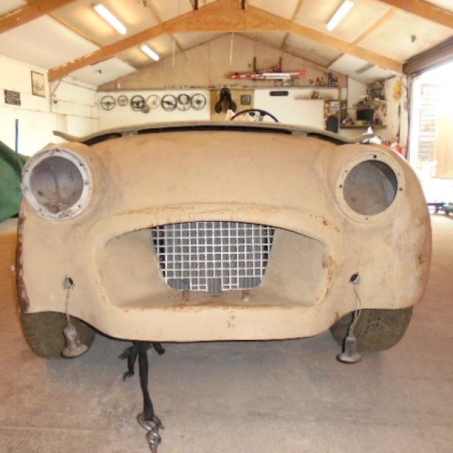 Triumph TR2 Restoration 1955