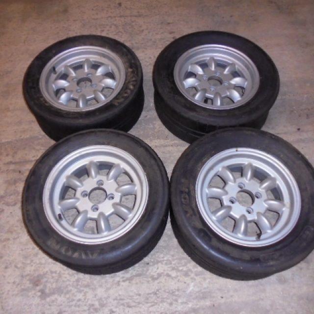Caterham Minilite Style Wheels
