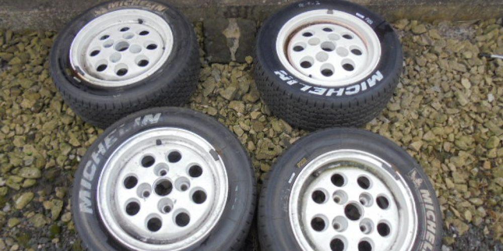 Ford XR2 Pepper Pot Wheels